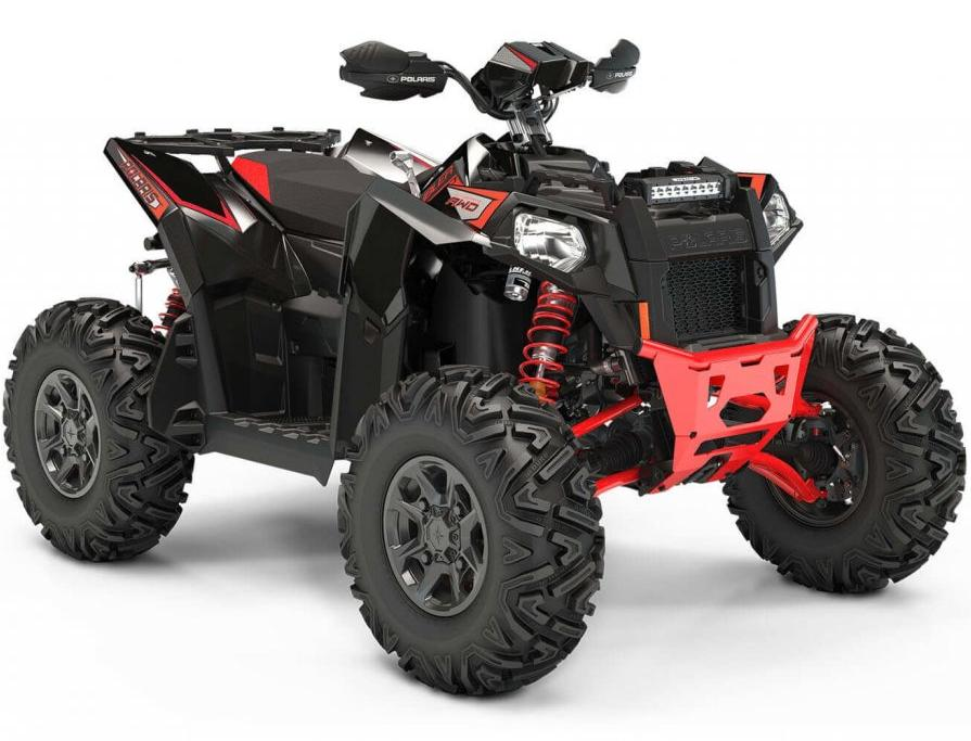 2020 Polaris Scrambler XP 1000 S Black Pearl