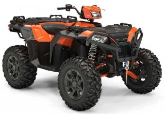 2020 Polaris Sportsman XP 1000 S Orange Madness